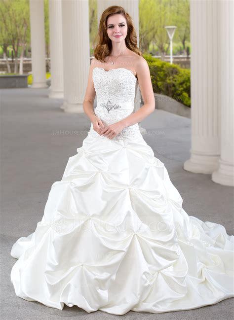 Brautkleider Jjshouse by Gown Sweetheart Chapel Satin Wedding Dress With