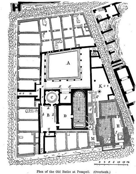 layout of roman bath house ancient roman baths thermae baths of caracalla