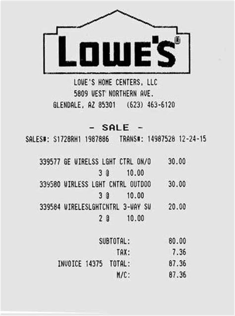lowe s receipt template current device deals best prices link to new thread at