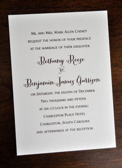 2016 wedding invitation wording typical wedding invitation wording