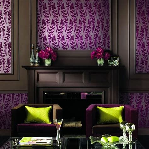Purple Colour Combination For Living Room by Living Room Purple Brown Green Color Scheme Quot