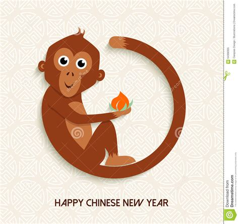 new year monkey ks1 new year monkey 2016 card stock