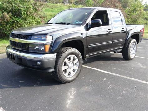 Chevrolet Colorado 4 Door For Sale by Purchase Used 2012 Chevrolet Colorado Lt Crew Cab 4 Door 3 7l Z71 4x4 In Hurricane West