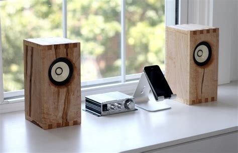 wood bookshelf speakers woodworking projects plans