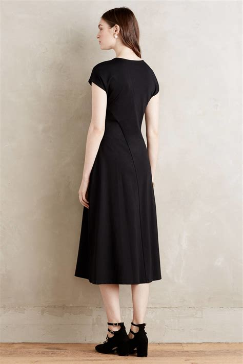 Amila Dress Black maeve amelia dress in black lyst