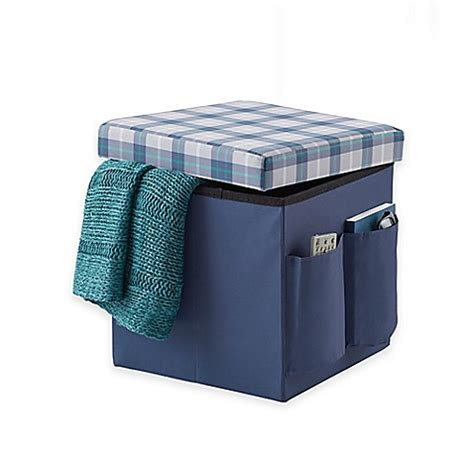 sit and store ottoman sit store folding ottoman bed bath beyond