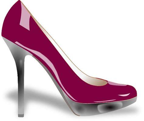 artistic high heels clip heels purple high heel clip at clker
