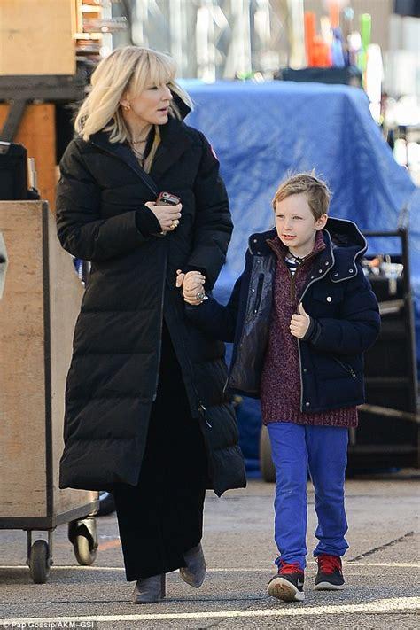 Cate Blanchett Has Seen Better Days by Cate Blanchett Brings Children To The New York