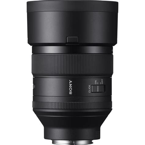 Sony Fe 85mm F 1 4 Gm Lens Hitam sony sel85f14gm fe 85mm f 1 4 gm lens