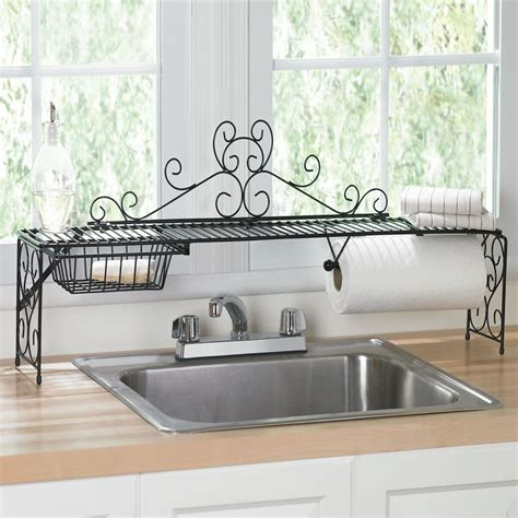 scrolling over the sink shelf iron love pinterest