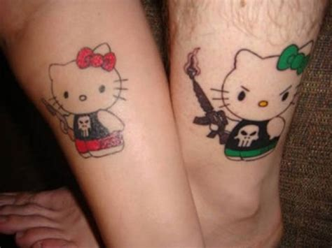 unique matching couple tattoos infinity designs tattoos for couples