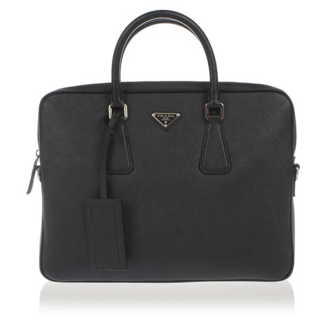prada leather work bags spence outlet