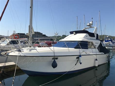 fairline corniche   yacht boat  sale  plymouth