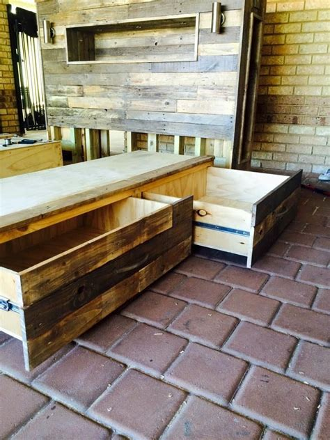 diy pallet bed with lights diy pallet bed with headboard and lights 101 pallet