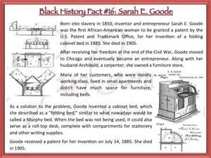 Who Invented The Cabinet Bed by Rcf Black History Fact 16 E Goode Was The