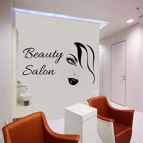 sexy home decor sexy woman wall decals beauty salon decorative sticker