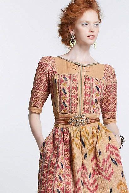 desain dress kain tenun all for fashion designs vanga vintage kantha dress by