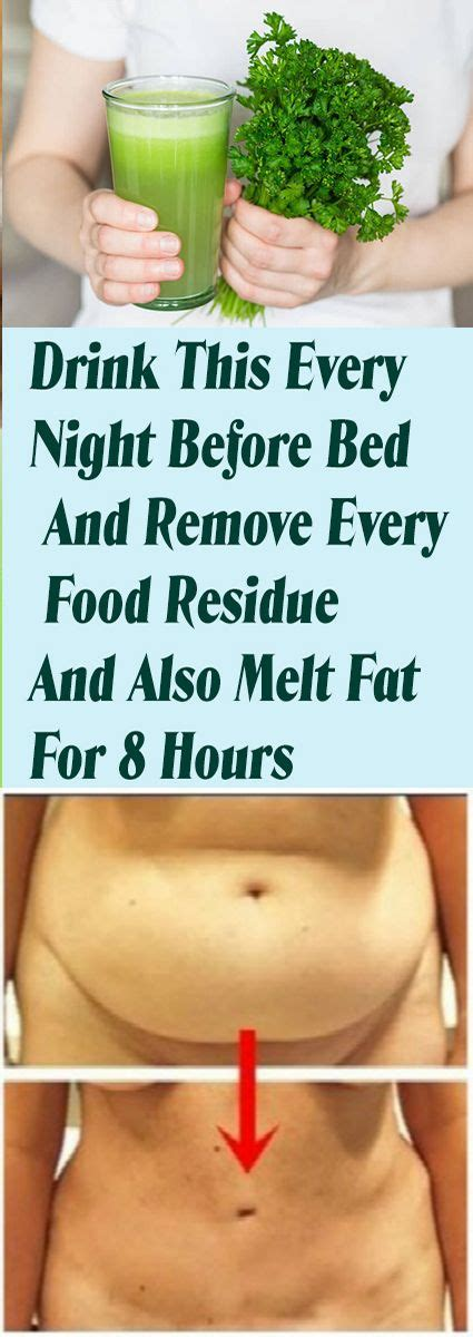 Best Detox Drink Before Bed by Drink This Every Before Bed And Remove Every Food