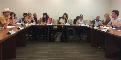 Table Read by Pretty Liars Cast Assembles For Second To Last Table Read Benson Hale