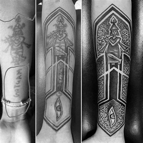 forearm cover up tattoos for men 60 cover up tattoos for concealed ink design ideas