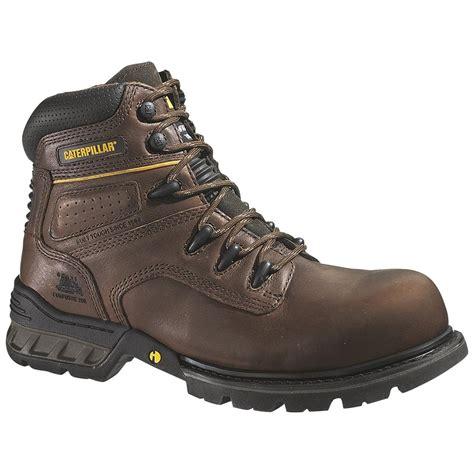 Sepatu Caterpillar Steel Toe s caterpillar 174 foundation composite toe work boots