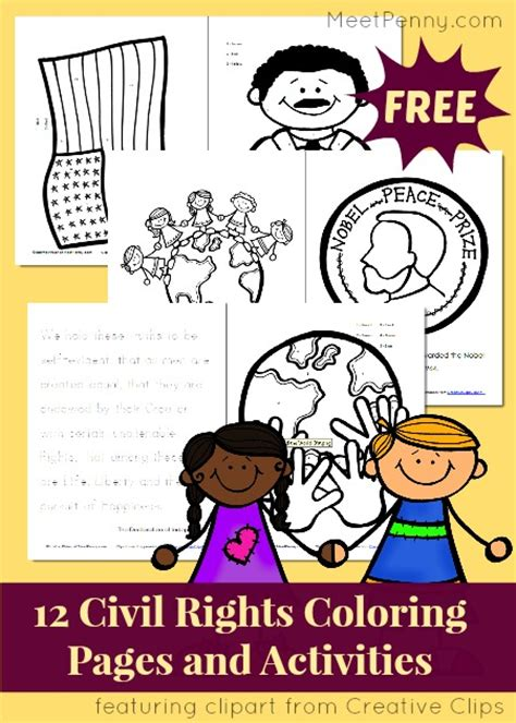 Google Images Civil Rights Coloring Pages