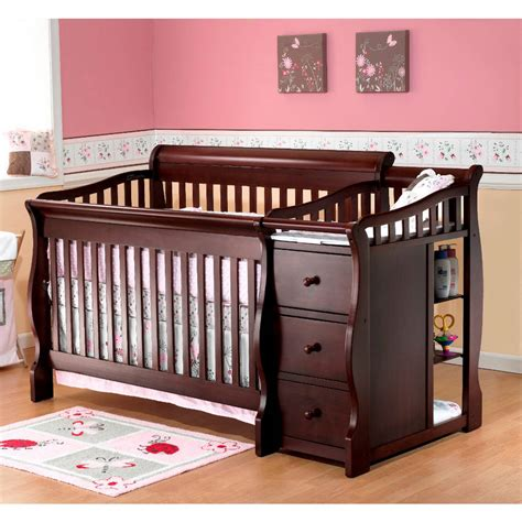 Changing Table Attachment Baby Cribs With Changing Table Attached Www Imgkid The Image Kid Has It