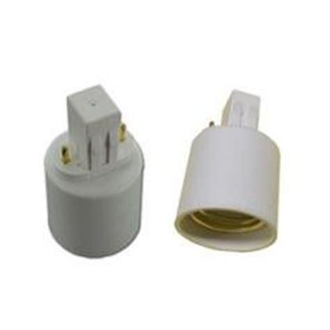gx23 base led l gx23 base 2 pin cfl to medium e26 socket adapter