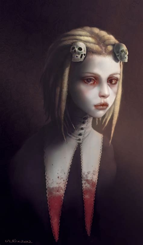 little girl art lenore the cute little dead girl by ulrik bad ass on