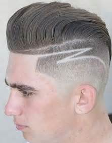 mens haircut with line mens short haircut art line2 rkomedia