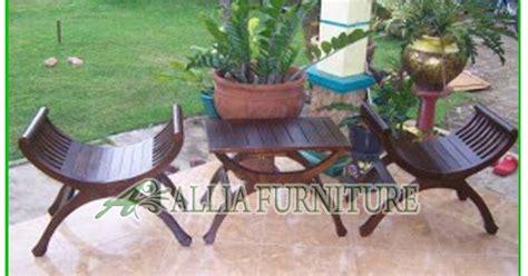 Kursi Teras Kepiting Kayu Jati kursi teras klender kayu jati yuyu allia furniture
