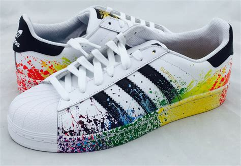 adidas originals lgbt superstar shoes mens shelltoe rainbow pride d70351 ebay