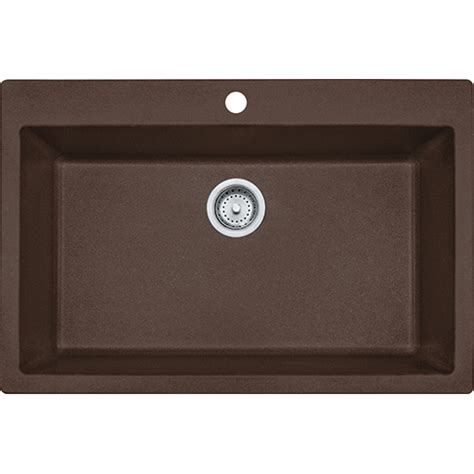 franke granite kitchen sinks franke dig61091 moc primo 33 inch dual mount single bowl