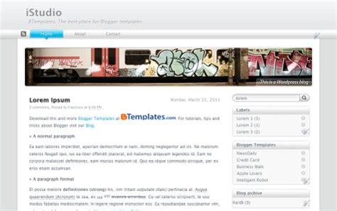 istudio html5 blogger template fajar zikri blog