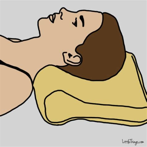 Pillow To Prevent Neck by Doctors Say That Water Could Do This To Your Neck