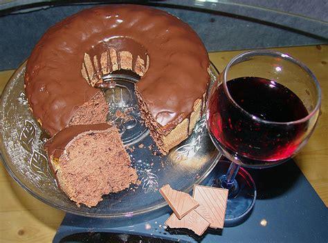 rotwein schoko kuchen rotwein schoko kuchen rezept mit bild lisa77