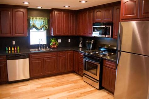 mobile homes kitchen designs 1000 images about home interiors trailer house remodels