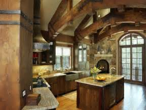A Frame Kitchen Ideas Timber Frame Home Construction