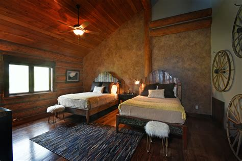 bow room updated photography for hospitality property in montana