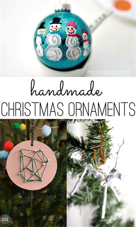 handmade christmas ornaments ideas