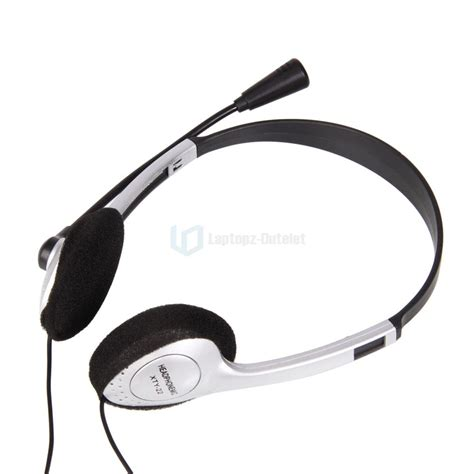 Headset Hp Asus 3 5mm stereo headphone headset with mic volume for pc laptops ebay