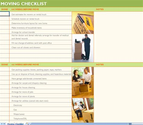 Moving Checklist Moving Day Pinterest House And Organizing Moving Checklist Template