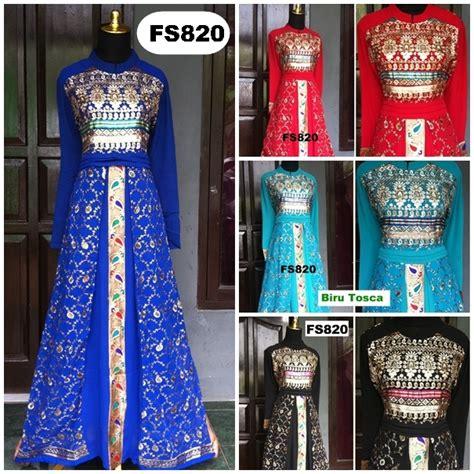 Kalung Batik Handmade Pesta Casual 28 foto baju gamis dan baju pesta update 15 april 2014 fika