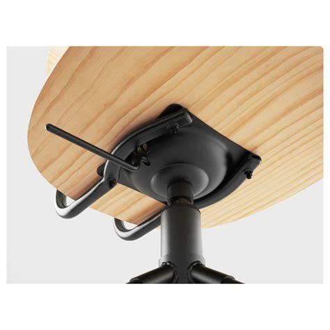 kullaberg desk pine black 110x70 cm ikea kullaberg swivel chair pine black ikea