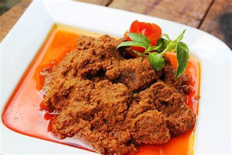 resep rendang daging sapi padang asli enak  empuk
