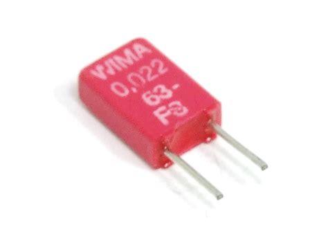 polyester capacitor characteristics 2x wima mks02 0 022uf 22nf 63v metallized polyester capacitor kondensator 2 5mm ebay