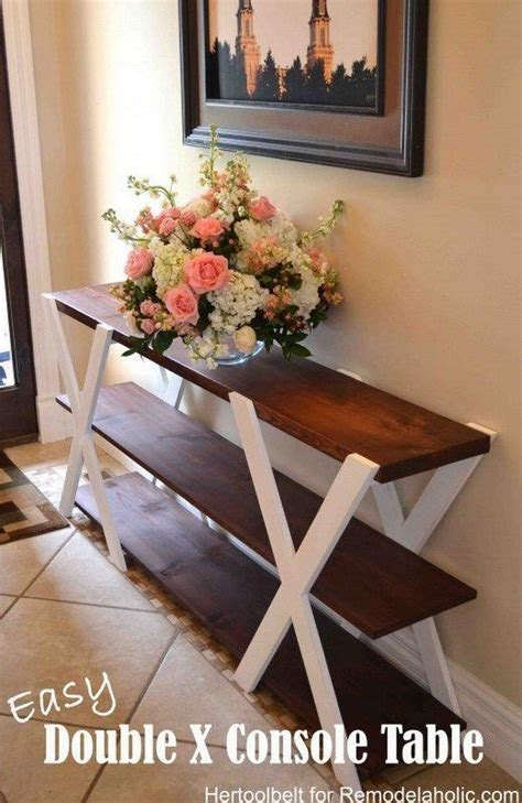 rustic charm home decor 25 great ideas about rustic console tables on pinterest