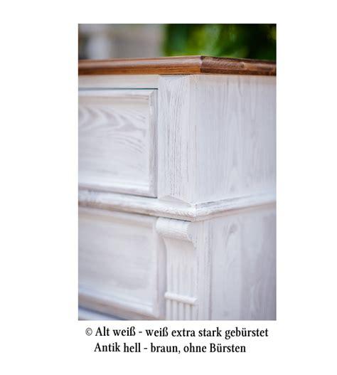 echtholz schrank landhaus anrichte klein 3 t 252 rig 3 schubladen massiv aus holz
