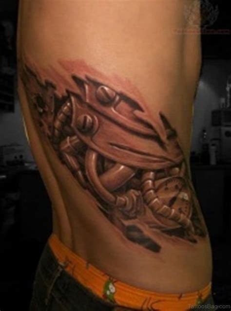 rare tattoos 50 biomechanical tattoos for rib