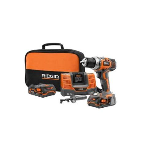 ridgid fuego 18 volt hyper lithium ion 1 2 in compact